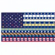 USA state flags — Stock fotografie