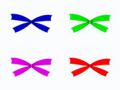 Color bows — Stock Photo