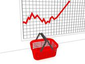 Preise steigen — Stockfoto