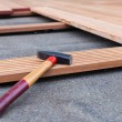Stock Photo: Flooring