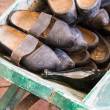 Old clogs — Stock Photo