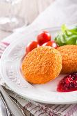 Fried camembert — Stock Photo