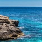 Mediterranean sea and rocky coast of Spain Mallorca island — Stock Photo #32480533