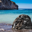 Sea and rocky coast of Spain Mallorca island — Stock Photo #32480593