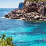 Mediterranean sea and rocky coast of Spain Mallorca island — Stock Photo #32480683