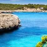 Mediterranean sea and rocky coast of Spain Mallorca island — Stock Photo #32480687