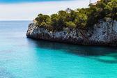 Sea and rocky coast of Spain Mallorca — Stock Photo