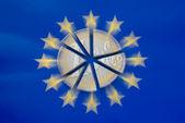 Split of Euro zone — Stock Photo