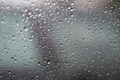 Drops on the glass — Stock Photo