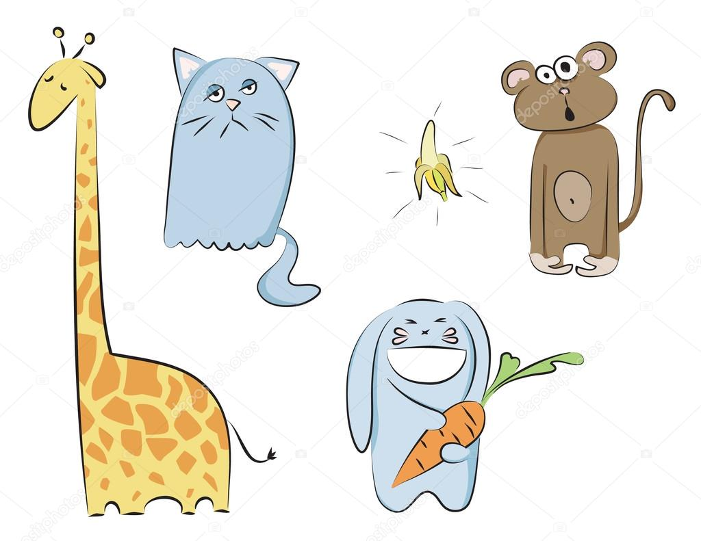 Set of vector animals — Stock Vector #12753987