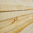 Background. Stack of wooden boards. — Stock Photo