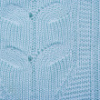 Wool texture closeup, blue — Stock Photo