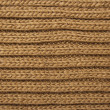Stock Photo: Brown knit texture
