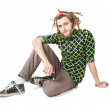Stock Photo: Young dreadlock msit