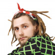 Young dreadlock man — Stock Photo