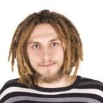 Portrait of a man with dreadlocks — Stock Photo #13271073