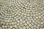 Stone block paving — Stock Photo