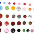 Many different buttons isolated — Stock Photo #14770969