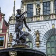 Neptune fountain in Gdansk — Stock Photo #27943021