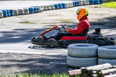 Karting — Stock Photo