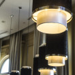 Decorative Lights in Hotel Lobby — Stock Photo