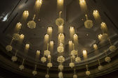 Chandeliers in Hotel Casino — Photo
