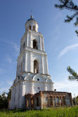 The bell tower of Trinity Church — Stock Photo