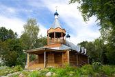 Wooden monastery church. Yaroslavl, Russia — Stock Photo