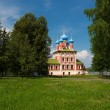 Temple of Tsarevich Dmitry on the Blood of Uglich city — Stockfoto