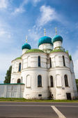 Bogoyavlenskii Cathedral of Uglich city — Stock Photo
