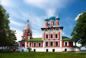 Temple of Tsarevich Dmitry on the Blood of Uglich city — Stock Photo