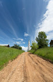Strada rurale — Foto Stock