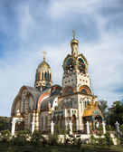 Church of the Holy Prince Vladimir on Mount Grapevine, Russia, S — Stock Photo