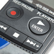 Stockfoto: Buttons of digital dictaphone