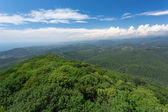 Landscape of mountains — Stock Photo