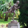 Stock Photo: Romstatue with dagger, Arboretum Sochi