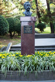 Bust of the founder of the Sochi Arboretum Khudekov Sergey — Foto Stock