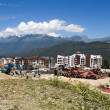 "Construction of the new Olympic ski facility ""Rosa Khutor"" — Stock Photo"