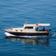 Go fishing from a boat — Stock Photo #13832262