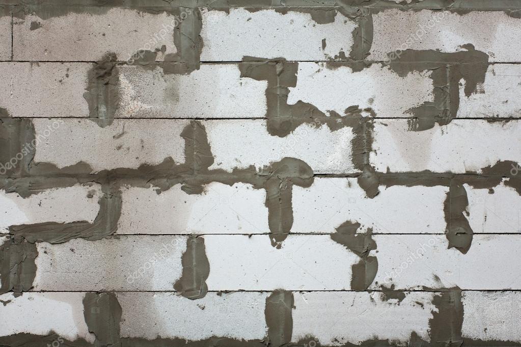 wei e kohlens urehaltiges betonsteine mauer stockfoto. Black Bedroom Furniture Sets. Home Design Ideas