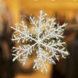 Christmas snowflake - Stock Photo