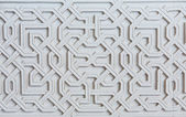 Moorish facade ornament — Stock Photo