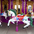 Carousel Horses on carnival — Stock Photo #22999002