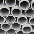 Pile of cement pipes — Stock Photo #25323089