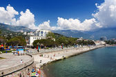 Embankment in Yalta, Crimea — Stock Photo