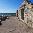 Ruins of Chersonese Taurian in Crimea — Stock Photo