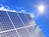 Solar power — Stock Photo