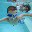 Swimming underwater — Stock Photo #19410915