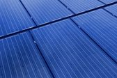 Solar panels background — Stock Photo