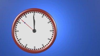 Countdown to deadline — Stock Video